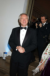 DAVID DAVIS MP at a dinner attended by the Conservative leader Michael Howard and David Davis and David Cameron held at the Banqueting Hall, Whitehall, London on 29th November 2005.<br /><br />NON EXCLUSIVE - WORLD RIGHTS