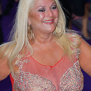 London,England,UK : 15 June 2016 : Vanessa Feltz attend the Disney's Aladdin Opening Night at the Prince Edward Theatre on Old Compton Street, Soho, London. Photo by See Li