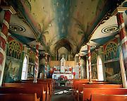 Saint Benedict's Painted Church, Island of Hawaii, USA<br />