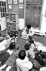 Stanley junior school, Nottingham UK 1986