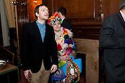 MATTHEW BEARNAN; BETHAN LAURA WOOD; , Wallpaper Design Awards 2012. 10 Trinity Square<br /> London,  11 January 2011.