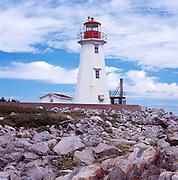 West End Lighthouse, Liverpool, Nova Scotia