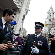 The funeral of former Prime Minister Margaret Thatcher who died Monday April 8.