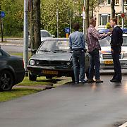 Ongeval Zuiderzee Huizen, 2 auto's 1 lichtgewonde