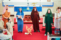 The Christmas Pageant at Emmanuel Lutheran Church in Norwood MA on December 18, 2016