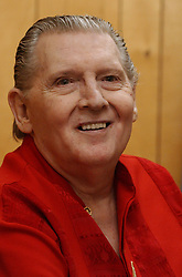 May 1, 2004 - Memphis, TN, U.S. - Sat 01 May 04 (asjerryl5)  Photo by Alan Spearman.  Jerry Lee Lewis before his Memphis in May set. (Credit Image: © The Commercial Appeal/ZUMApress.com)