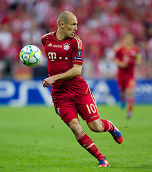 19.05.2012, Allianz Arena, Muenchen, GER, UEFA CL, Finale, FC Bayern Muenchen (GER) vs FC Chelsea (ENG), im Bild Bayern Munchen's Arjen Robben during the Final Match of the UEFA Championsleague between FC Bayern Munich (GER) vs Chelsea FC (ENG) at the Allianz Arena, Munich, Germany on 2012/05/19. EXPA Pictures © 2012, PhotoCredit: EXPA/ Propagandaphoto/ Vegard Grott..***** ATTENTION - OUT OF ENG, GBR, UK *****