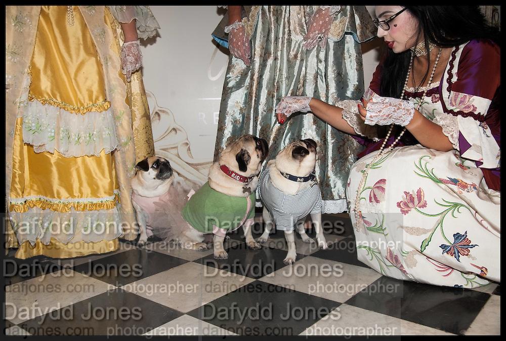 EDITH; BERTIE; GIZMAN, Florence Heoluwa 'Cuppy' Otedola Marie Antoinette Graduation party. Mandarin Oriental, Knightsbridge25th of July 2014.