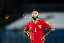 October 5, 2017 - San Marino, SAN MARINO - 171005 Joshua King of Norway during the FIFA World Cup Qualifier match between San Marino and Norway on October 5, 2017 in San Marino. .Photo: Fredrik Varfjell / BILDBYRN / kod FV / 150027 (Credit Image: © Fredrik Varfjell/Bildbyran via ZUMA Wire)
