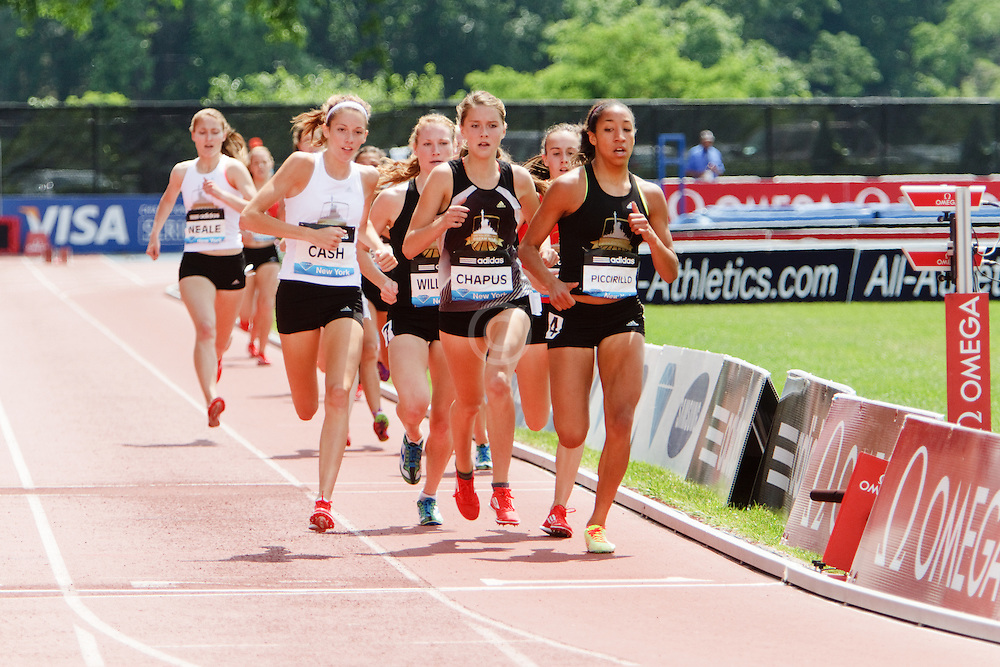 Samsung Diamond League adidas Grand Prix track & field; Dream Mile, High School Girls, Cami Chapus, winner