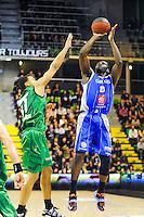 Guy Landry Edi  - 29.11.2014 - Lyon Villeurbanne / Chalon Reims - 10e journee Pro A<br /> Photo : Jean Paul Thomas / Icon Sport