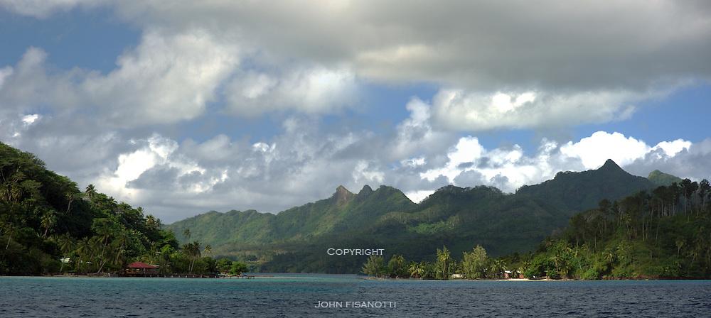 The Island of Huahine