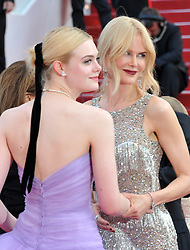 'Beguiled' premiere during the 70th Cannes Film Festival. 24 May 2017 Pictured: Nicole Kidman, Elle Fanning. Photo credit: Pongo / MEGA TheMegaAgency.com +1 888 505 6342