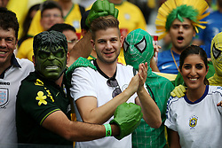 08.07.2014, Mineirao, Belo Horizonte, BRA, FIFA WM, Brasilien vs Deutschland, Halbfinale, im Bild Fans // during Semi Final match between Brasil and Germany of the FIFA Worldcup Brazil 2014 at the Mineirao in Belo Horizonte, Brazil on 2014/07/08. EXPA Pictures © 2014, PhotoCredit: EXPA/ Eibner-Pressefoto/ Cezaro<br /> <br /> *****ATTENTION - OUT of GER*****