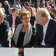 NLD/Amsterdam/20120922 - Koningin Beatrix opent het Vernieuwde Stedelijk Museum , Prins Constantijn