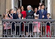 Queen Margrethe's birthday, Copenhagen 16-04-2018