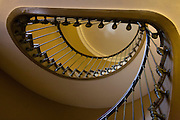 Staircase in the Opera Garnier, Paris.