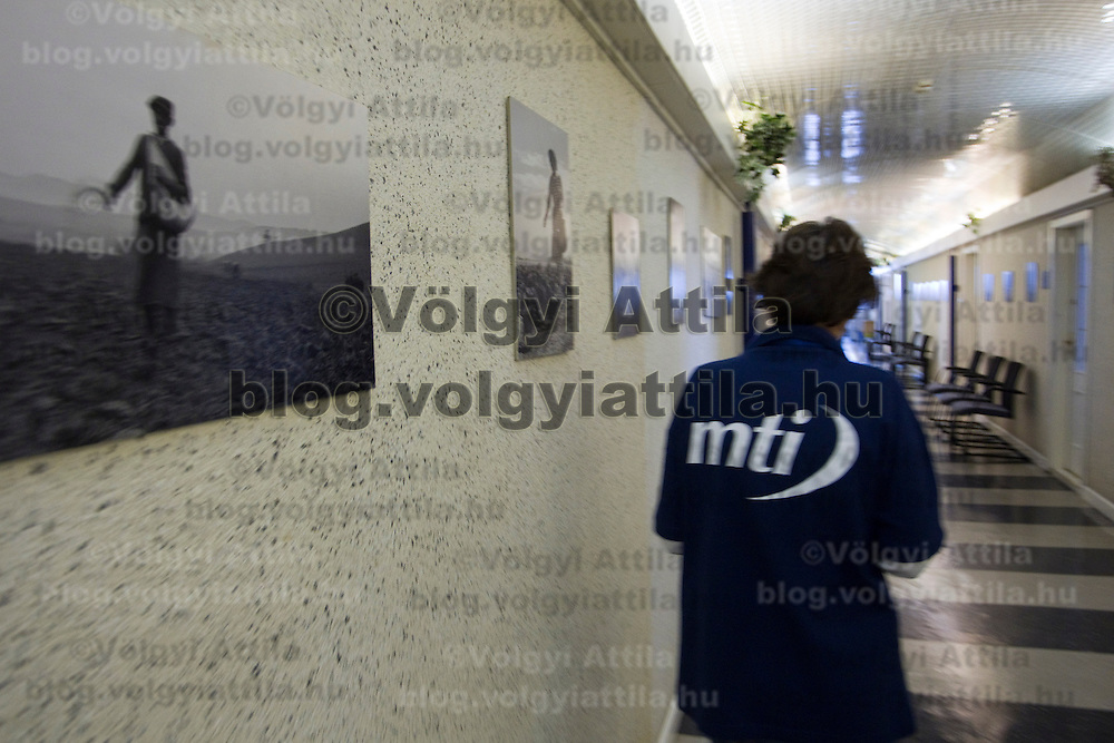 MTI the Hungarian National News Agency opens its doors to visitors to become familiar with the structure and work of the institution on the National Cultural Heritage day. Nap hegy ter 8, Budapest, Hungary. Sunday, 19. September 2010. ATTILA VOLGYI