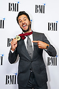 Luke Bryan is seen arriving at BMI Awards at BMI Nashville on Tuesday, November 7, 2017, in Nashville, Tenn. (Photo by Wade Payne/Invision/AP)