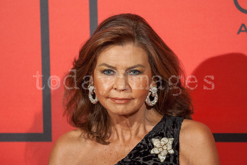 Marisa de Borbon during the photocall of Vanity Fair 5th Anniversary party In Madrid