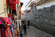 Many buildings in Cuzco still have Inca walls incorportated into newer structures.