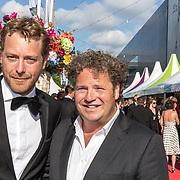 NLD/Amsterdam//20170617 - Amsterdam Diner 2017, Mark van Eeuwen en Dirk Zeelenberg