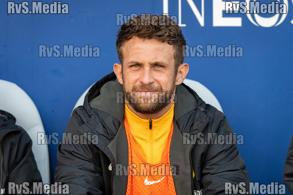 LAUSANNE, SWITZERLAND - SEPTEMBER 22: Miralem Sulejmani #10 of BSC Young Boys looks on before the Swiss Super League match between FC Lausanne-Sport and BSC Young Boys at Stade de la Tuiliere on September 22, 2021 in Lausanne, Switzerland. (Photo by Basile Barbey/RvS.Media/)