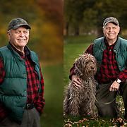 Portrait of Peter Popieniuck for his upcoming book.