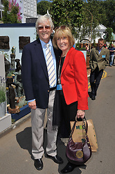 SIR MICHAEL & LADY PARKINSON at the 2011 RHS Chelsea Flower Show VIP & Press Day at the Royal Hospital Chelsea, London, on 23rd May 2011.