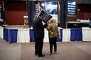 Golden Hall in downtown San Diego was election center on June 8, 2010 despite a boycott by the San Diego Democrats.