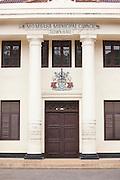 The town hall in Mombasa, Kenya