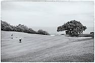 05-11-2017  Foto's genomen tijdens een persreis naar Buffalo City, een gemeente binnen de Zuid-Afrikaanse provincie Oost-Kaap. East London Golf Club - Uitzicht op de oceaan