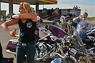 The Women's Freedom Ride on their coast to coast Freedom Ride.  The Women's Freedom Ride is an organization that supports and encourages all Women riders. The cross country motorcycle ride served to raise awareness of women riders and of our wounded veterans, through the Independence Fund. The Independence Fund is a non profit organization that helps severely wounded veterans by providing tools and therapy to enhance their quality of life, including providing the track wheelchair.  The riders left Charleston South Carolina on July 21st and arrived in San Diego, CA on July 31st 2013. Women's Freedom Ride raised money and presented a check to the Independence Fund  at its Lt. Dan Band Weekend held in Charleston South Carolina on September 4th 2013.