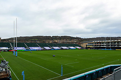 A general view of the Recreation Ground prior to the match - Mandatory byline: Patrick Khachfe/JMP - 07966 386802 - 21/11/2020 - RUGBY UNION - The Recreation Ground - Bath, England - Bath Rugby v Newcastle Falcons - Gallagher Premiership