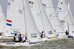 08_001928 © Sander van der Borch. Medemblik - The Netherlands,  May 23th 2008 . Third day of the Delta Lloyd Regatta 2008.