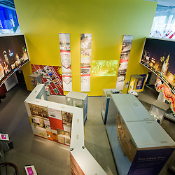 The Global City gallery inside the Museum of Liverpool.