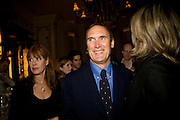 NETTIE MASON; A.A. GILL. Book party; Jessica Adams, Maggie Alderson, Imogen Edwards-Jones and Kathy Lette host the launch of 'In Bed With.' Artesian, The Langham, Portland Place. London. 11 February 2009 *** Local Caption *** -DO NOT ARCHIVE-© Copyright Photograph by Dafydd Jones. 248 Clapham Rd. London SW9 0PZ. Tel 0207 820 0771. www.dafjones.com.<br /> NETTIE MASON; A.A. GILL. Book party; Jessica Adams, Maggie Alderson, Imogen Edwards-Jones and Kathy Lette host the launch of 'In Bed With.' Artesian, The Langham, Portland Place. London. 11 February 2009