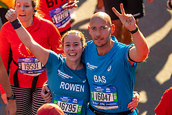 04-11-2018 USA: NYC Marathon We Run 2 Change Diabetes day 3, New York<br /> Race day  TCS New York City Marathon / Bas, Rowen