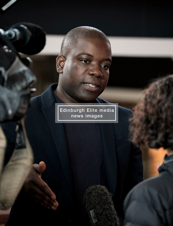 Kweku Adoboli Facing Deportation, Friday 12th October 2018<br /> <br /> Former trader Kweku Adoboli is facing deportation to Ghana having previously been jailed for illegal trading. Local MP Hannah Bardell spoke with Mr Adoboli today after politicians signed a cross-party letter to the Home Secretary imploring him to stop the deporatition.<br /> <br /> Pictured: Kweku Adoboli<br /> <br /> Alex Todd   Edinburgh Elite media