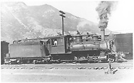 """RGS 2-8-0 #17 switching at Durango.<br /> RGS  Durango, CO  Taken by Perry, Otto C. - 6/7/1923<br /> In book """"Southern, The: A Narrow Gauge Odyssey"""" page 10<br /> Also in """"RGS Story Vol. XI"""", p. 175; """"RGS Story Vol. XII"""", p. 39 (enlarged) and """"Silver San Juan"""", p. 200.<br /> Same as RD155-068 and RDS155-159."""