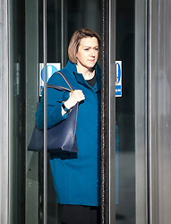 © Licensed to London News Pictures. 04/02/2018. London, UK. CLAIRE KOBER leader of the London Borough of Haringey, leaves BBC Broadcasting House in London following an appearance on The Andrew Marr Show on BBC One. Photo credit: Ben Cawthra/LNP