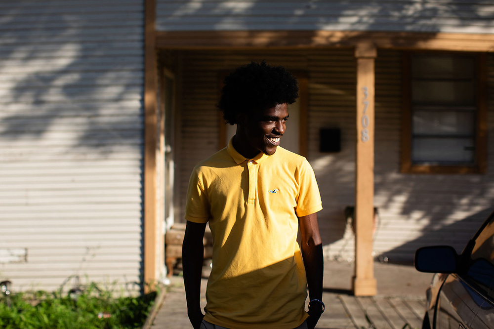 October 5, 2018 | Dallas, Texas | Scenes from the 2018 Texas Sate Fair - Dominque Ellis, 18, south Dallas resident his whole life. Recorded interview<br /> <br /> dominque211999@gmail.com/214-710-5621