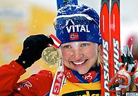 ◊Copyright:<br />GEPA pictures<br />◊Photographer:<br />Mario Kneisl<br />◊Name:<br />Tjoerhom<br />◊Rubric:<br />Sport<br />◊Type:<br />Biathlon<br />◊Event:<br />IBU WM 2005, 15 km Einzel, Damen<br />◊Site:<br />Hochfilzen, Austria<br />◊Date:<br />08.03.05<br />◊Description:<br />Linda Tjoerhom (NOR), Medaille<br />◊Archive:<br />DCSKN-0803054301<br />◊RegDate:<br />08.03.2005<br />◊Note:<br />8 MB - KA/DM - Nutzungshinweis: Es gelten unsere Allgemeinen Geschaeftsbedingungen (AGB) bzw. Sondervereinbarungen in schriftlicher Form. Die AGB finden Sie auf www.GEPA-pictures.com.<br />Use of picture only according to written agreements or to our business terms as shown on our website www.GEPA-pictures.com.