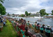 Henley-On-Thames, Berkshire, UK., Saturday, 14.08.21,   2021 Henley Royal Regatta, Henley Reach, River Thames, Thames Valley,  [ Mandatory Credit © Peter Spurrier/Intersport Images],