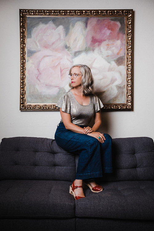 Laura Veirs at Flora Recording and Playback in Portland, OR, Sept 2019. Photo by Jason Quigley