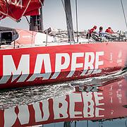 © Maria Muina I MAPFRE. The MAPFRE waiting for the wind. El MAPFRE esperando por el viento.