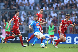 August 2, 2017 - Munich, Germany - Dries Mertens of Napoli during the Audi Cup 2017 match between SSC Napoli v FC Bayern Muenchen at Allianz Arena on August 2, 2017 in Munich, Germany. (Credit Image: © Matteo Ciambelli/NurPhoto via ZUMA Press)