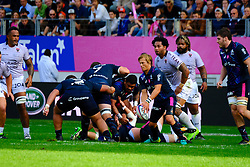 September 24, 2017 - Paris, France - The Stade Francais scrum-half Charl McLeod in action during The French Rugby Championship Top14 Stade Francais vs Rugby Club Toulonnais at The Jean Bouin Stadium in Paris - France.RCT won 15-19 (Credit Image: © Pierre Stevenin via ZUMA Wire)