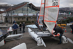 The RYA Youth National Championships 2013 held at Largs Sailing Club, Scotland from the 31st March - 5th April. ...For Further Information Contact..Matt Carter.Racing Communications Officer.Royal Yachting Association.M: 07769 505203.E: matt.carter@rya.org.uk ..Image Credit Marc Turner / RYA..