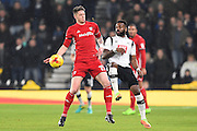 Cardiff City defender Greg Halford (15)  during the EFL Sky Bet Championship match between Derby County and Cardiff City at the Pride Park, Derby, England on 14 February 2017. Photo by Jon Hobley.